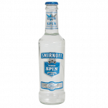 74 24 bottles of 300ml Smirnoff Spin vodka cooler.