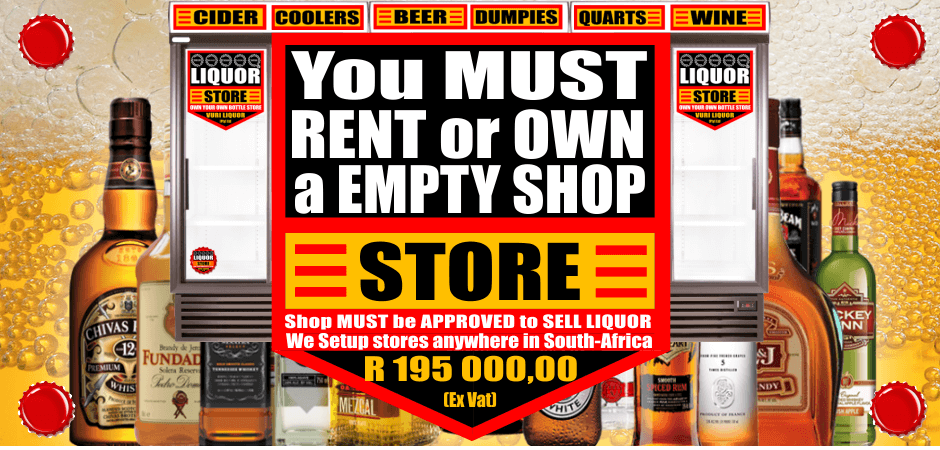 Bottle Store for Sale Johannesburg