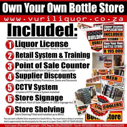 Bottle Stores For Sale Gauteng